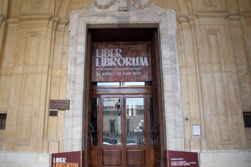 Nationalbibliothek Malta Valletta