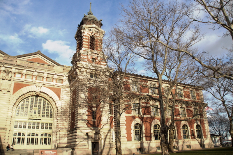 Ellis Island Gebäude Building New York