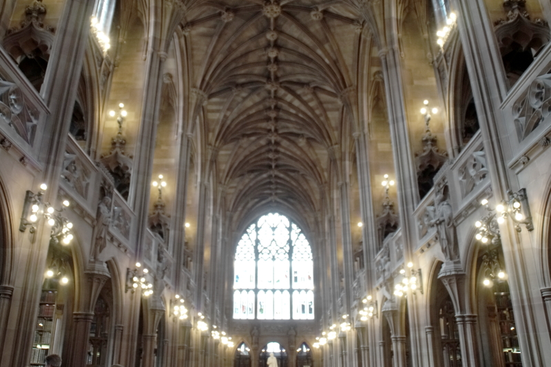 The John Rylands Library A Booklovers Guide to Manchester