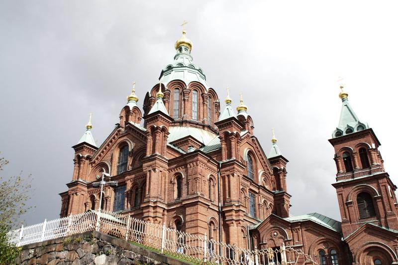 Uspenski Kirche Helsinki Finland