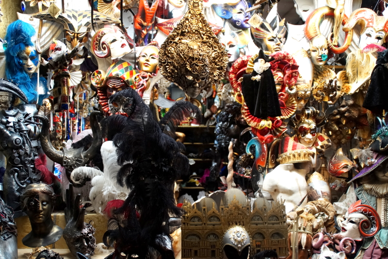 Ca Macana Masks Venice Venedig Italy Italien