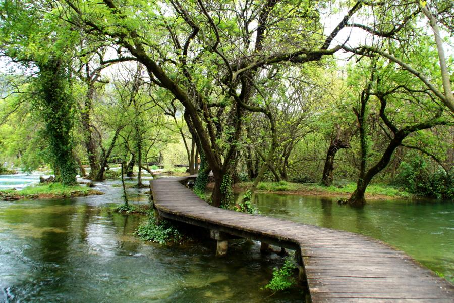 Krka Nationalpark besuchen Kroatien Croatia