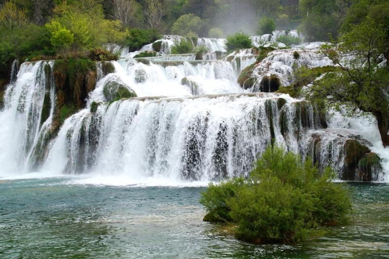 Skradinski Buk Krka Nationalpark Croatia