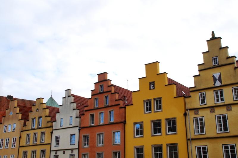 Bunte Giebelhäuser Osnabrück entdecken