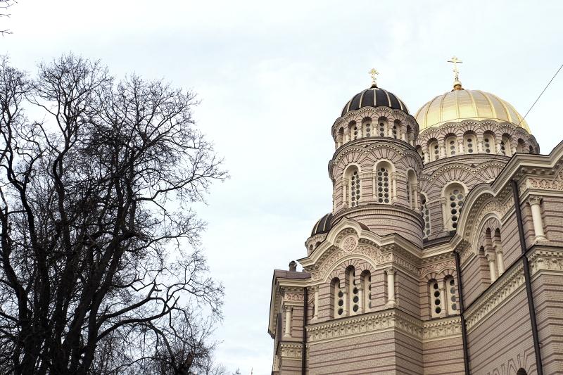 Christi-Geburten-Kirche Lettland Latvia