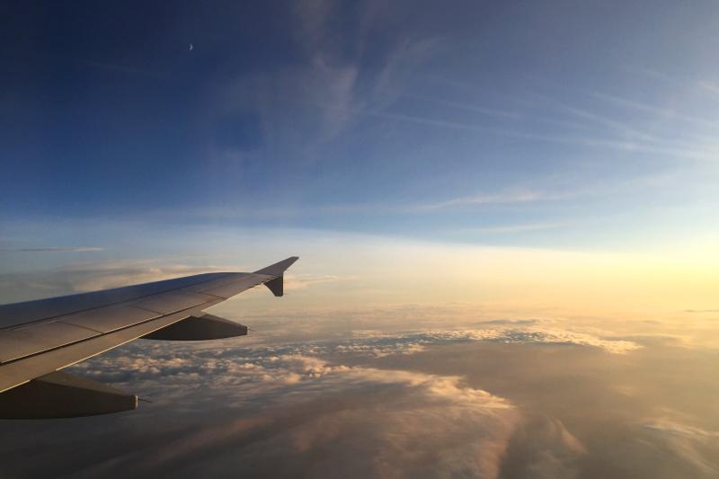 Flug ist verspätet